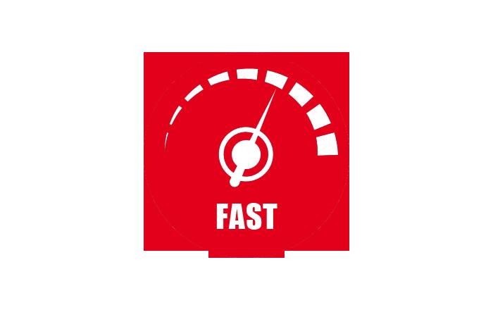 Los más rápidos